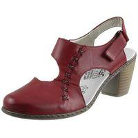Sandały 40950 czerwone marki Rieker