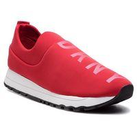 Sneakersy - jadyn k4869330 heavy scuba/glitter logo rouge, Dkny, 35.5-40