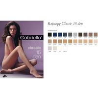 Gabriella 104 classic 15 den sable rajstopy (10402278)