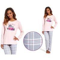 Piżama damska roma: szary/róż, Cornette