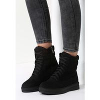 Czarne botki iron woman, Vices, 36-39