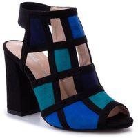Sandały - 274/a mix niebieski marki Roberto