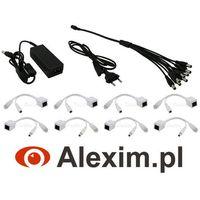 Alexim Pakiet akcesoriów do zestawów ip na 4 kamery
