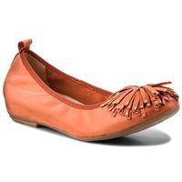 Półbuty CAPRICE - 9-22121-20 Orange Nubuc 609, w 3 rozmiarach
