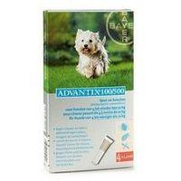 Bayer Advantix spot-on dla psa 4-10kg - roztwór przeciwko pchłom i kleszczom - 4 pipety w opakowaniu
