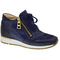 Sneakersy Botki Badura 6080-69 granat
