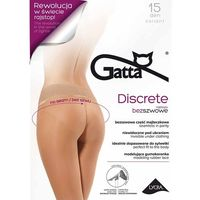 Rajstopy Gatta Discrete 15 den ROZMIAR: 4-L, KOLOR: beżowy/golden, Gatta