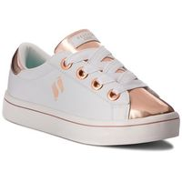 Sneakersy - medal toes 84688l/wtrg white rose gold, Skechers