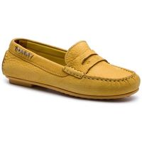 Mokasyny - colorful tommy moccasin fw0fw04398 spectra yellow 730 marki Tommy hilfiger