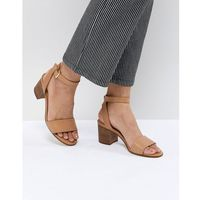 ALDO Tan Block Heeled Sandals - Tan