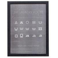 Plakat w ramie Laundry Room - Bloomingville, 50505345