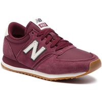 Sneakersy - u420brg bordowy marki New balance