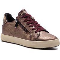 Sneakersy - b blomiee b d826hb 0pvnf c7j9h dk burgundy/lead, Geox