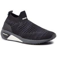 Sneakersy DIESEL - S-Kb Athl Sock W Y01876 P2199 H3800 Black/Grey, kolor czarny