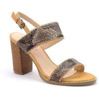 Sandały Monnari BUT0050-017 brązowy