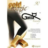 RAJSTOPY Z DODATKIEM ZŁOTA I KWASU HIALURONOWEGO GOLD MAGIC 90 DEN GATTA