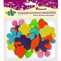 Titanum Naklejki kwiatki listki mix 307939