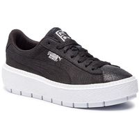 Sneakersy PUMA - Platform Trc BioHacking Wn's 369160 03 Puma Black/Puma Silver, kolor czarny