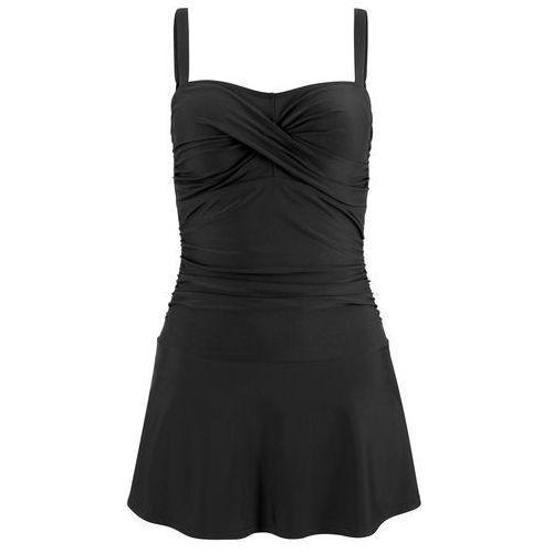 Bonprix Sukienka kąpielowa czarny