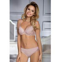 Biustonosz Usztywniany Model Jasmina Powder Pink, usztywniany