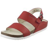 Sandały 1224 - czerwone marki Lesta