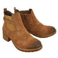 Rieker 96864-24 brown, botki damskie