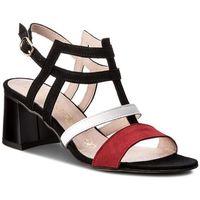 Sandały OLEKSY - 2289/955/534/147/000 Czarny Kolorowy, w 6 rozmiarach