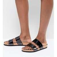 Monki Stud Detail Sandal - Black