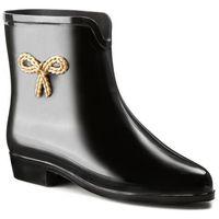 Kalosze MEL BY MELISSA - Mel Ankle Boot Sp Ad 30714 Black 01003, kolor czarny