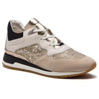 Geox Sneakersy - d shahira b d62n1b 085at c1181 off white/lt taupe