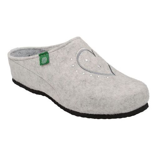 Kapcie 330149-81 beżowe pantofle domowe ciapy zdrowotne - beżowy ||offwhite marki Dr brinkmann