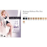 Gabriella Rubensa Plus Size ccode 161 rajstopy, GABRARUBEN#NEU#7