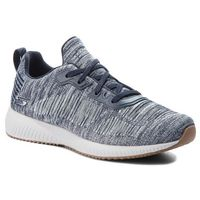 Sneakersy - bobs sport total hit 32506/nvw navy/white marki Skechers