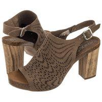 Sandały brązowe 996-9630 c ta (ve113-a) marki Venezia