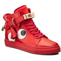 Sneakersy CARINII - B3770/O H54-000-PSK-B67, kolor czerwony