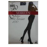 Rajstopy erotic vita bassa 100 nero, Marilyn
