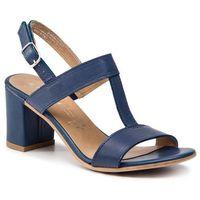 Sandały MARCO TOZZI - 2-28356-22 Navy 805, kolor niebieski