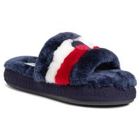 Kapcie - downslipper sandal fw0fw04365 rwb 020 marki Tommy hilfiger