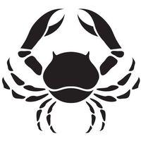 Szabloneria Szablon samoprzylepny znak zodiaku - rak