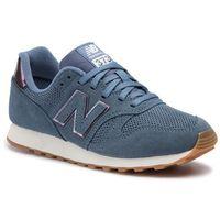 Sneakersy - wl373wng niebieski, New balance, 36-41.5