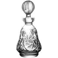 Karafka do likieru szkło kryształowe tradycyjny szlif młynkowy -0085, 0085