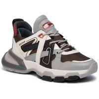 Sneakersy BRONX - 66285-AH BX 1621 Grey/O.White/Khaki/Rust 3252, w 6 rozmiarach