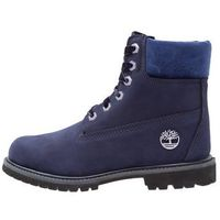 Timberland PREMIUM WP BOOT Botki sznurowane dark evening blue