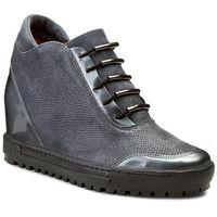 Eksbut Sneakersy - 75-3880-d45/f69/g37 szary licowa