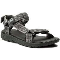 Sandały - seven seas 2 sandal m 4026651 tarmac grey marki Jack wolfskin