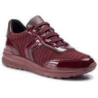 Sneakersy GEOX - D Airell A D842SA 0AS66 C7J7B DK Burgundy/Bordeaux