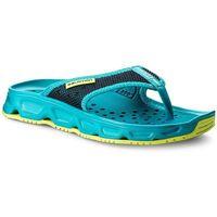 Japonki SALOMON - Rx Break W 401463 21 M0 Bluebird/Deep Lagoon/Safety Yellow, 1 rozmiar