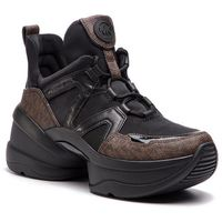 Sneakersy MICHAEL MICHAEL KORS - Olympia Trainer 43R9OLFS7D Blk/Brown