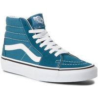 Sneakersy VANS - Sk8-Hi VN0A38GEU60 Corsair/True White, kolor niebieski