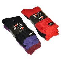 Skarpety soft socks 38910 damskie a'2 39-42, wielokolorowy, wik marki Wik